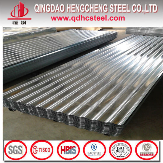 Cold Rolled Galvalume Corrugated Sheet Price pictures & photos