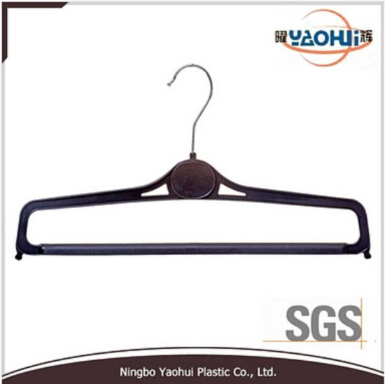 Plastic Trouser Hanger with Metal Hook for Display (35.5cm)