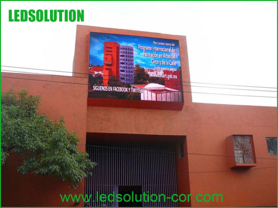 P10 Advertising Full Color Front Service Outdoor LED Display Sign pictures & photos