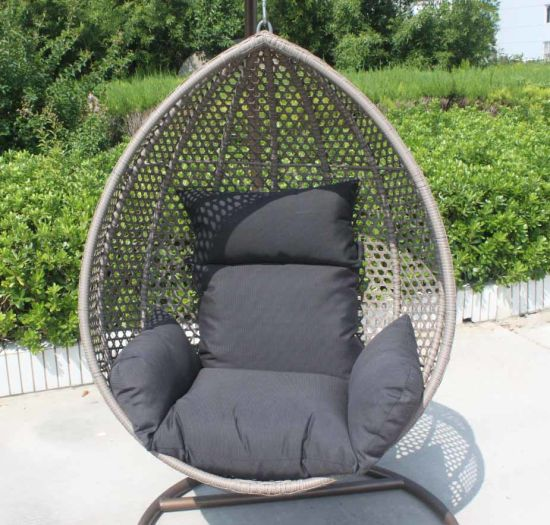 Outdoor Rattan Hanging Chair Balcony Chair Rattan Swing pictures & photos