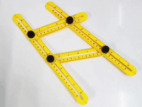 China Abs Ruler Measures All Angles Angle Izer Template Tools Multi