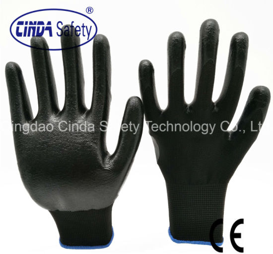 Daily Protective Nitrile Coated/Dipped Work and Labor Glove