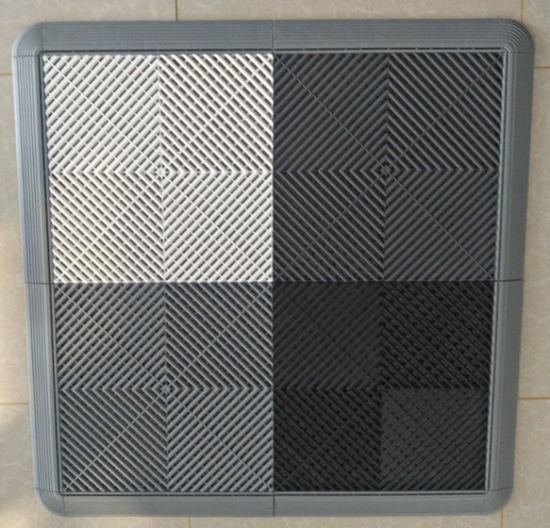 Garage Floor Epoxy Tiles