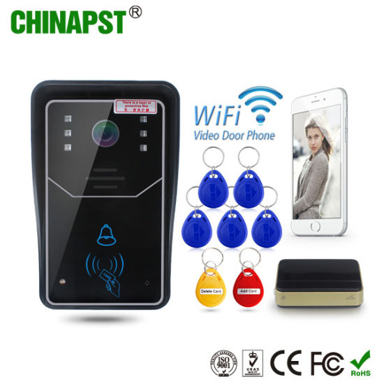 China Android+Ios APP Wireless WiFi Video Doorbell (PST-WiFi001ID