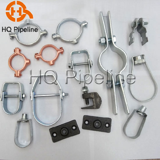 Swivel Loop/Clevis Steel Pipe Hangers and Beam/Strut/Riser Pipe Clamp pictures & photos