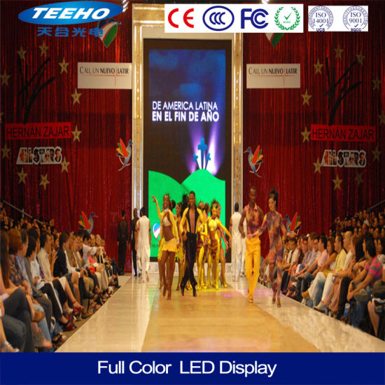 China Vivid Video Super Clear Full Color LED Display Big LED TV Wall