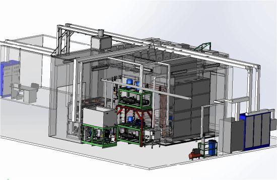 Condendsing Unit Test Laboratory