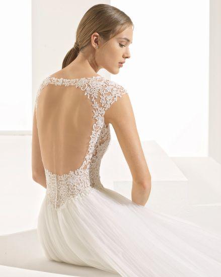 China Lace Beautiful Back Bridle Gown Wedding Dress - China Bridal ...