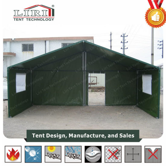 High Quality Military Tent with Clear Span for Refugee Tent pictures & photos
