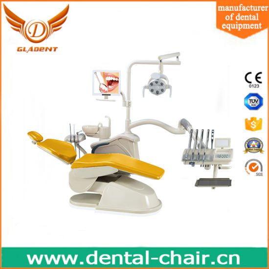 Us Tube Dental Chair Unit with Vacuum Suction pictures & photos