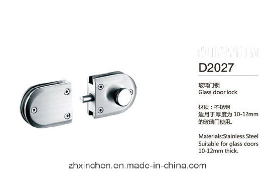 Xc-D2027 High Quality Stainless Steel Hardware Accessories Glass Door Lock pictures & photos