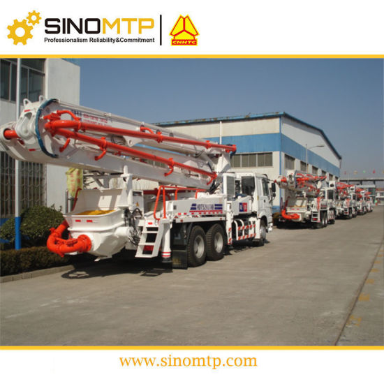 SINOTRUK HOWO 6X4 37M Truck Mounted Concrete Pump Truck pictures & photos