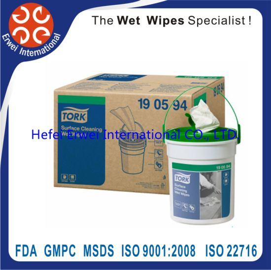 Strong Decontamination Heavy Industry Surface Cleaning Wet Wipe pictures & photos