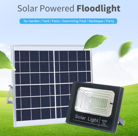 IP67 Outdoor Waterproof 100W Solar LED Flood Light Price Luz Solar Solar Lamp pictures & photos