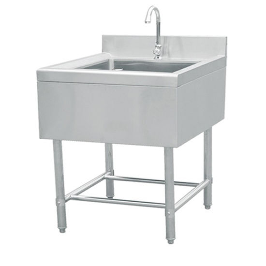 Stainless Steel Detouched Style Deep Single Sink 12