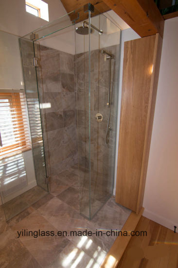 Tempered Ultra Clear Glass for Shower Screen pictures & photos