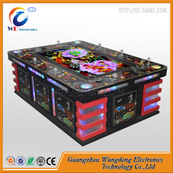 Fishing Game Machine Ocean Monster with Luxury Cabinet pictures & photos