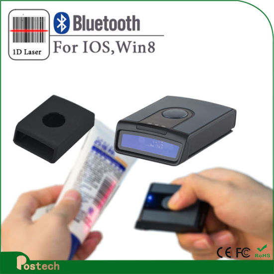 China Ms3391 Wireless Barcode Reader Bluetooth Mini Barcode Scanner