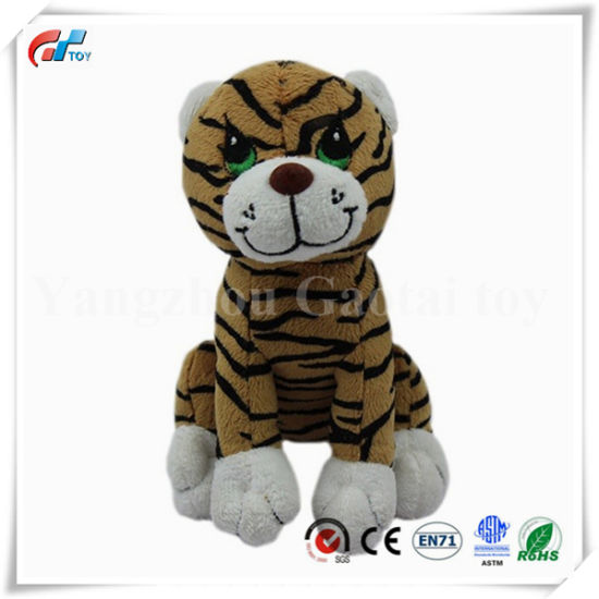 Factory Direct Stuffed Tiger Custom Animal Toy
