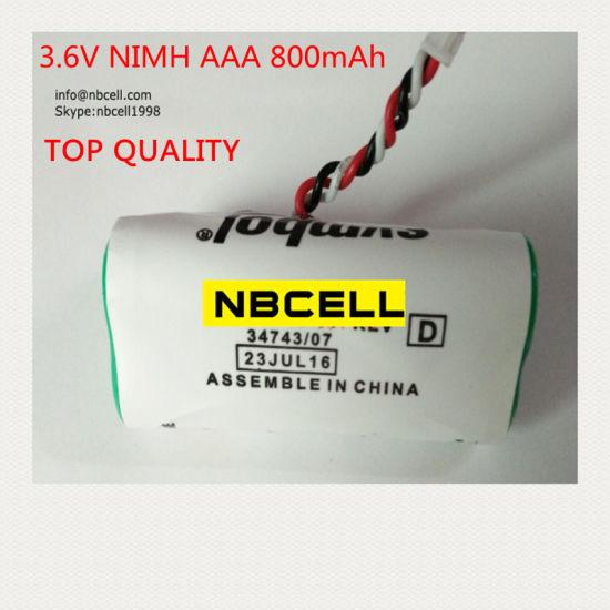 Custom 3 6V NiMH Battery Pack for Barcode Scanner (AAA 800mAh)