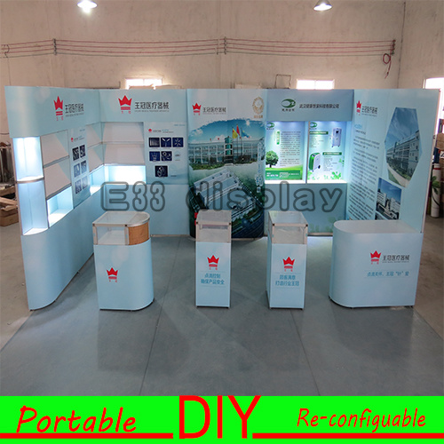 Exhibition Stand For Sale : China exhibition booth versatile portable and re usable standard