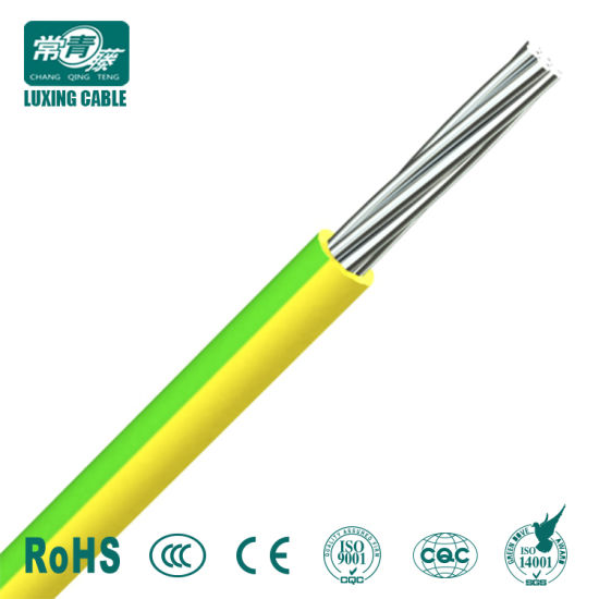 China Factory Supply Flexible Earth Cable Thin Electrical Wire H05V ...