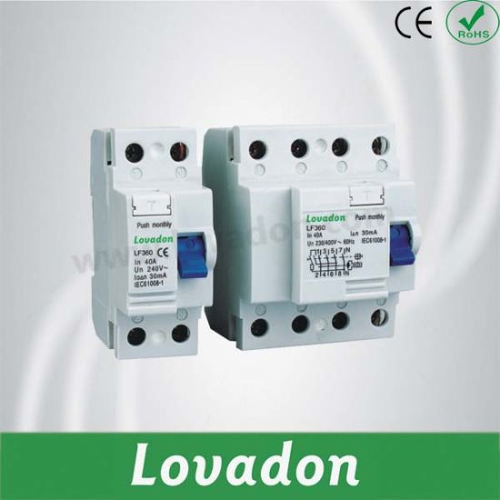 Good Quality Lf360 Series RCCB Residual Current Circuit Breaker pictures & photos