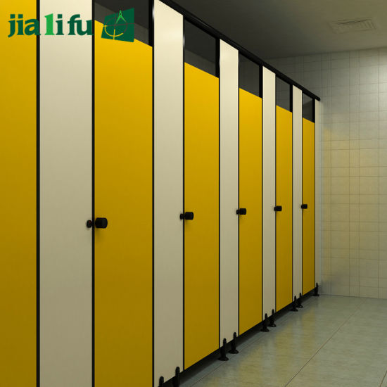Public New Design Phenolic Resin Toilet Partition System pictures & photos