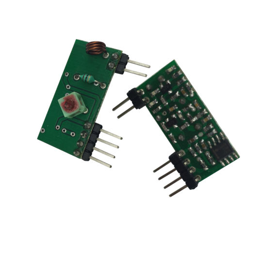 433MHz RF Receiver Module Superregeneration for Automatic System