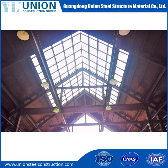 Prefab I Section H Section Beam Steel Frame Steel Structure Construction for Workshop Warehouse Office Building