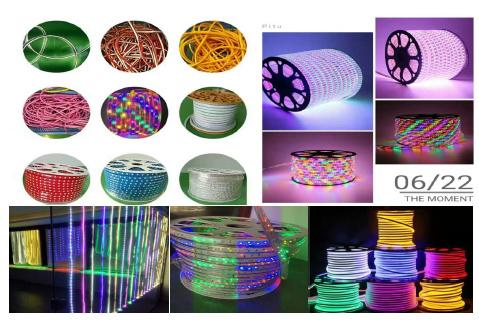 High Voltage (230 / 220 / 110 / 48 V) Low Voltage (36 / 24 / 12 / 5 / 3 V) Flexible Neon Light Belt Extrusion Molding Machine