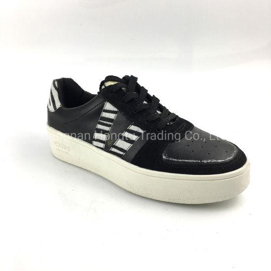 ODM OEM Comfortable PU Casual Women Shoes Sneaker