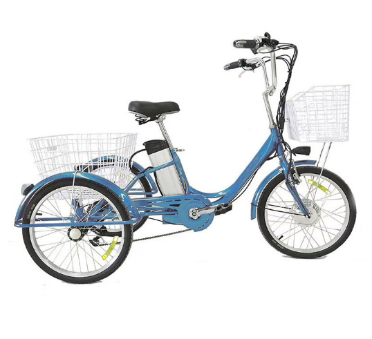 Factory Directly Family Used 36V 250W Adult Large Electric Tricycle for Shopping pictures & photos