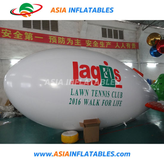 Creative Durable Printable Slogan Helium Advertising Inflatable Blimp Balloon pictures & photos
