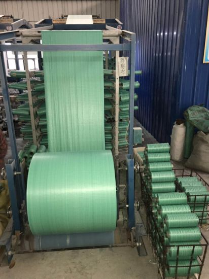 PP Fabrics Yellow/Green/Black/White/Color Packaging Material/Plastic Loom PP Woven Tubular Fabric Cloth in Roll