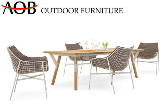 Excellent Chinese Modern Home Outdoor Garden Chair Aluminum Teak Wood Gmtry Best Dining Table And Chair Ideas Images Gmtryco