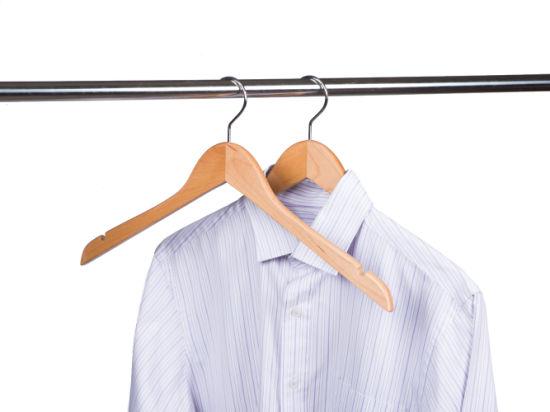 Amazon Hot Sale High Quality Wooden Clothes Hanger Shirt Hanger Wholesale
