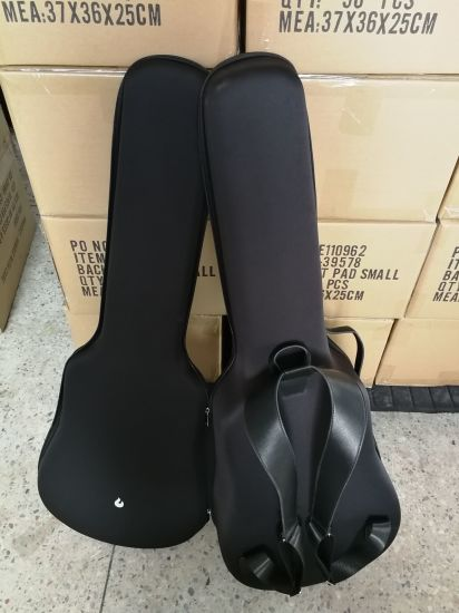 Fashion Musical Instrument Guitar Bag with Foam