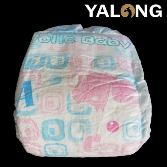 Cloth Like Back Film Soft Cotton Top Sheet Disposable Baby Diaper OEM Available pictures & photos