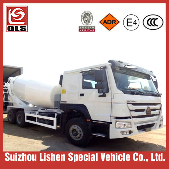 Sinotruck HOWO 6X4 10cbm Self Loading Concrete Mixer Truck pictures & photos