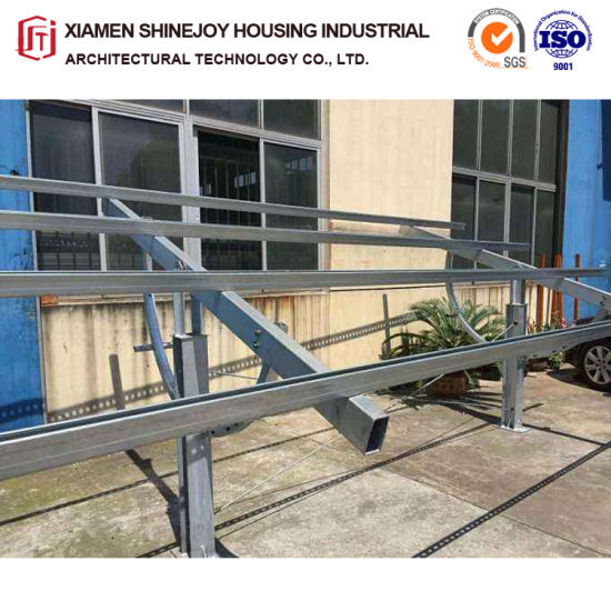 High Quality PV Solar Ground Mounting System for Ground Installation pictures & photos