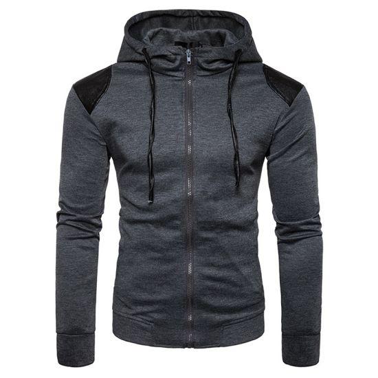 Factory Wholesale Men High Quality Fashion Casual Sweatshirt Hoodies