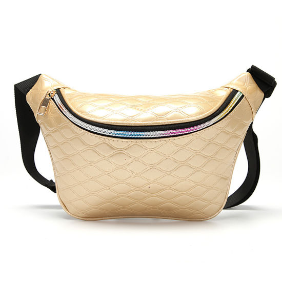 Ladies Belt Waist Bag Quilted Sling Bag Fashion Fanny Pack