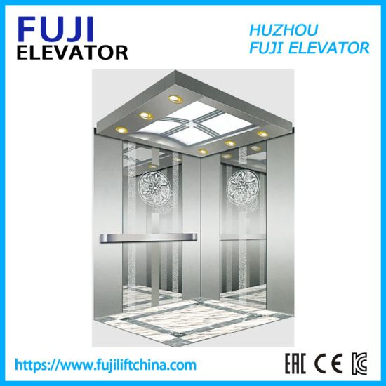 FUJI Passenger House Panoramic Cargo Observation Residential Elevator in China Factory