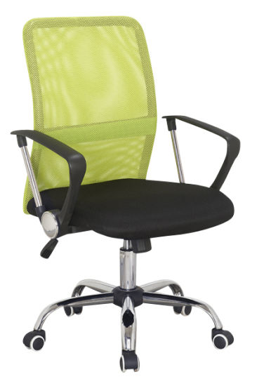 MID-Back Swivel Computer Mesh Manager Executive Office Chair Color Green