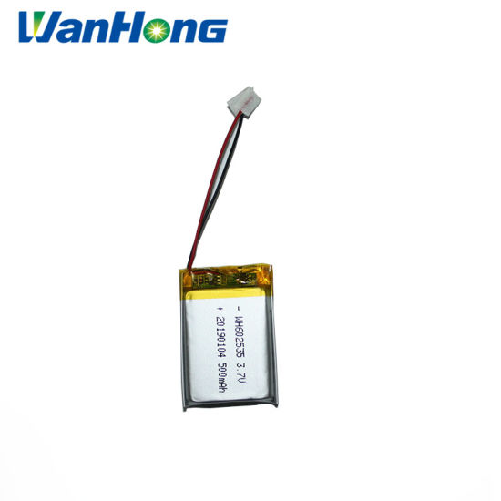 Deep Cycle Battery 3.7V Lithium Ion Battery/602535pl 500mAh Lithium-Ion Battery Lithium Polymer Battery Pack/Lithium Batteries for Digital Products