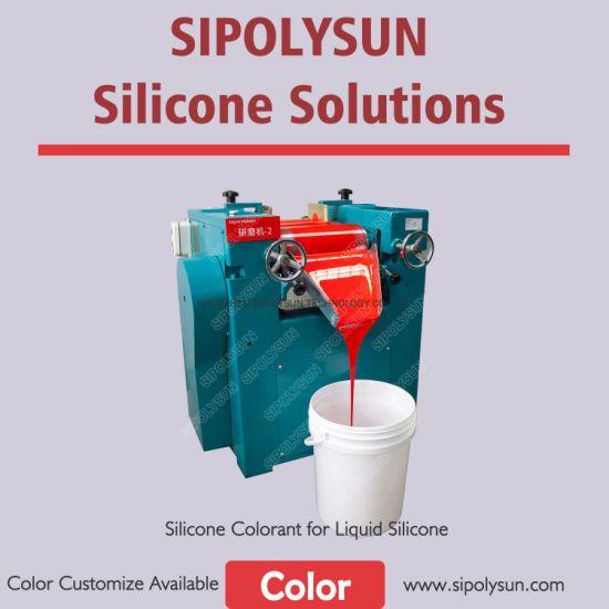 Liquid Silicone Colorant Color Master Batch for LSR Silicone Coloring
