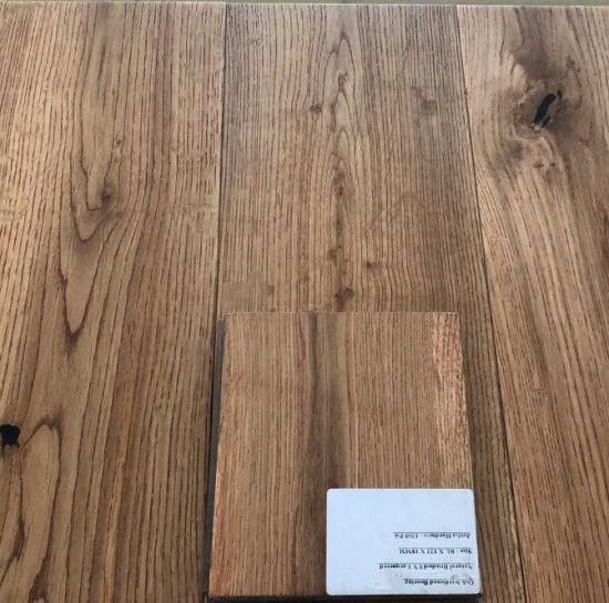 China 150 X 18 Mm Hot Sale Wide Plank Oak Hardwood Flooring China