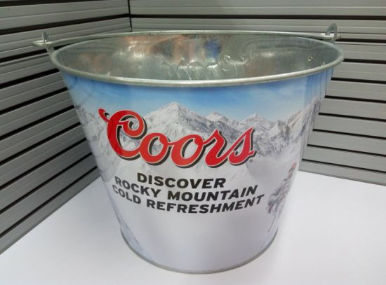 Promotional Customized Galvanized Metal Ice Buckets pictures & photos