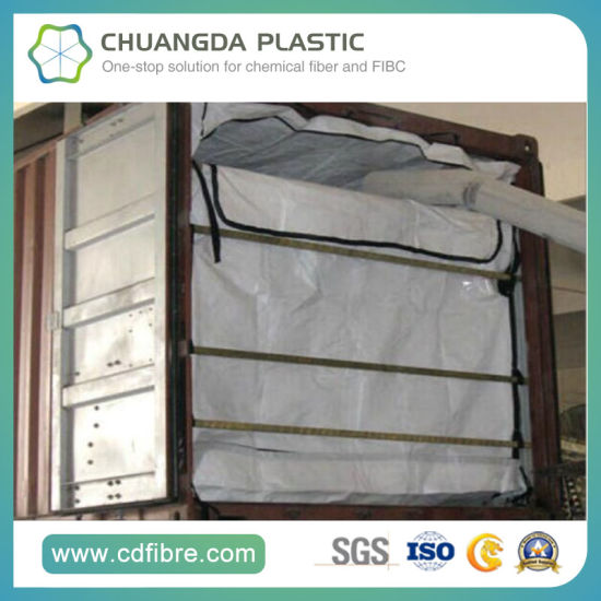 PE Container Liner Bag Dry Bulk Liner for Transporting Powder pictures & photos